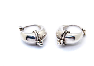 Triple Dot Mini Earring